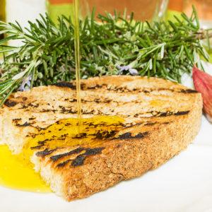 bruschetta olio e aglio